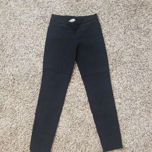 Black strech pants